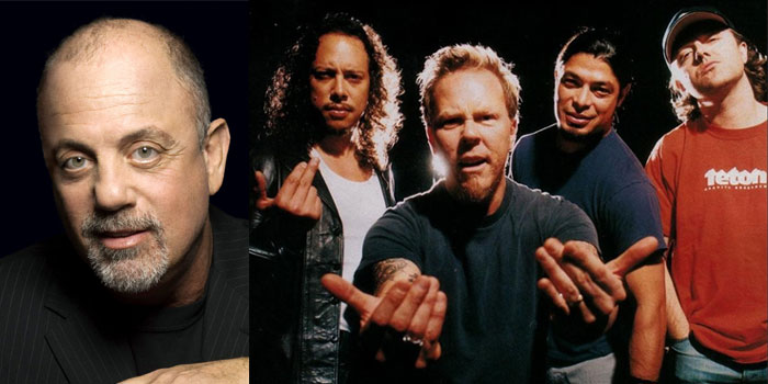 Metallica, Billy Joel & more added to National Recording Registry