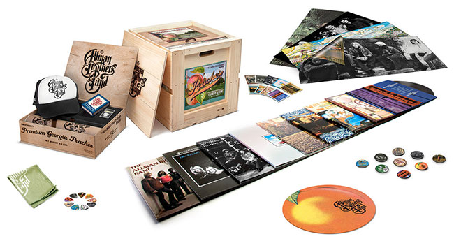 The Allman Brothers Band reissues nine vinyl albums