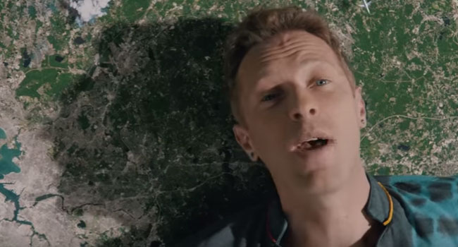 Coldplay Up & Up video