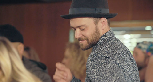 Justin Timberlake Can't Stop The Feeling