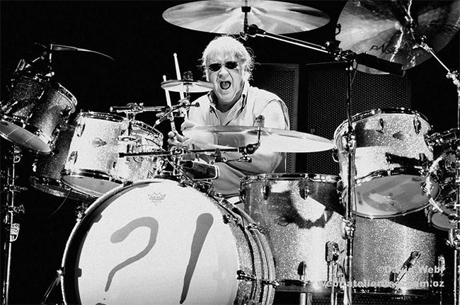 Deep Purple's Ian Paice