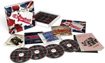 Sex Pistols 'Live 76' set for August 19th