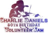 Charlie Daniels 80th Birthday Volunteer Jam