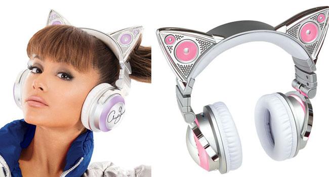 Cat Ear Headphones Drawing
