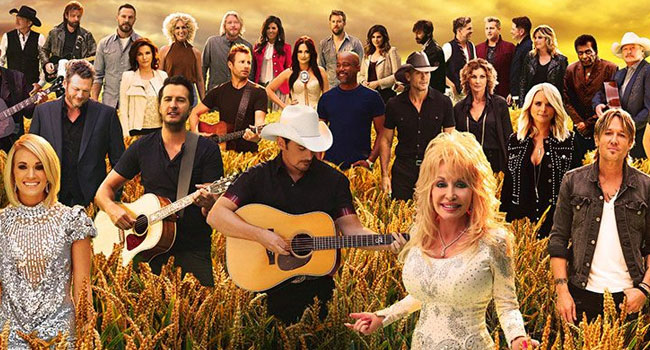 Powered by an unprecedented gathering of country music talent, a never ...