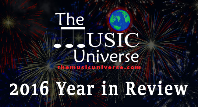 The Music Universe 2016 Year in Review