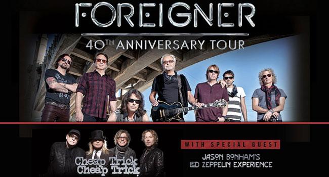 Foreigner, Cheap Trick & Jason Bonham