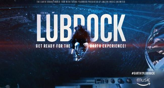 Garth Brooks Tour Lubbock Tx