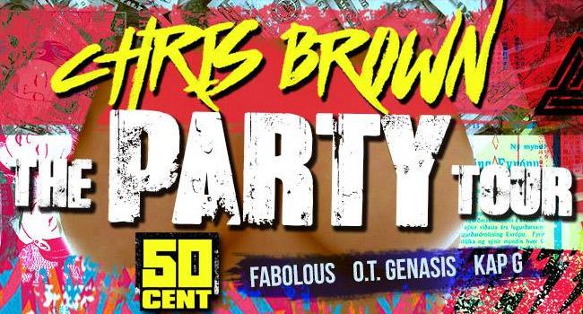 Chris Brown & 50 Cent - The Party Tour