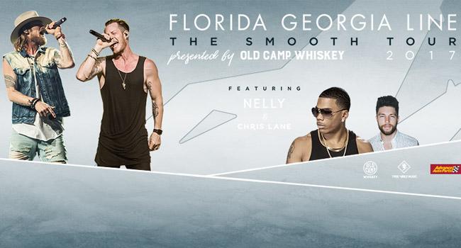 Florida Georgia Line, Nelly & Chris Lane - The Smooth Tour 2017