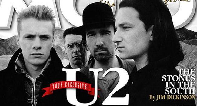 U2 - MOJO Magazine, April 2017