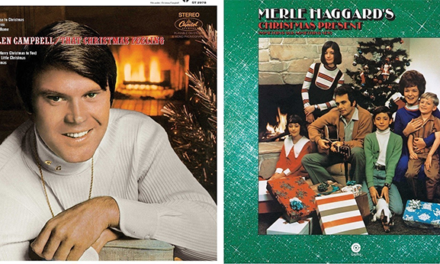 Glen Campbell, Merle Haggard Christmas albums available on vinyl