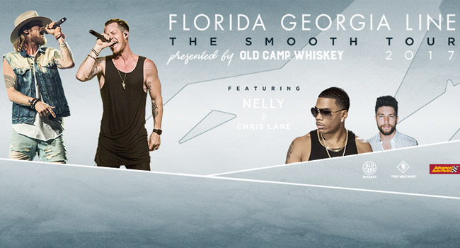 Florida Georgia Line, Nelly & Chris Lane - The Smooth Tour 2017