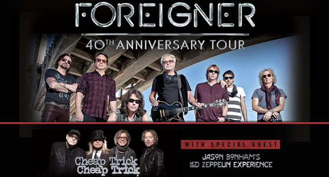 Foreigner, Cheap Trick & Jason Bonham