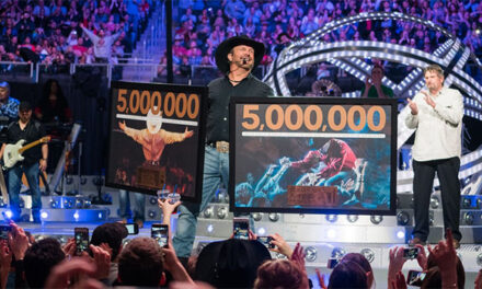 Garth Brooks celebrates five million tickets sold in 60 cities