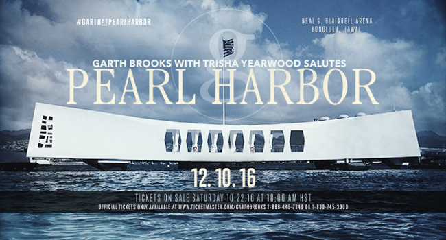 Garth at Pearl Harbor