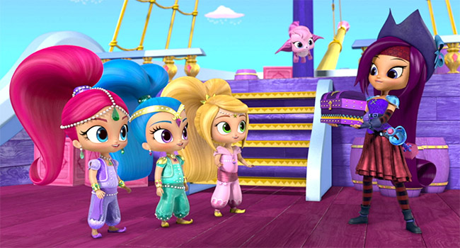 "Kellie Pickler voices Zora on ""Shimmer and Shine"""