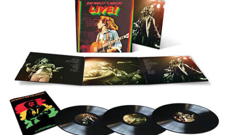 'Bob Marley & the Wailers – Live!' expanded triple LP detailed