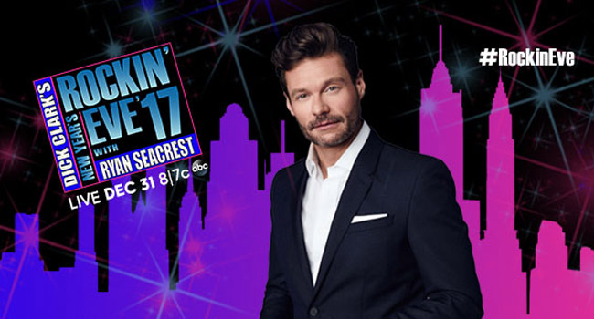 New Years Rockin' Eve with Ryan Seacrest 2017