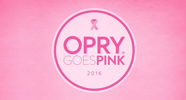 Opry Goes Pink with Jason Aldean