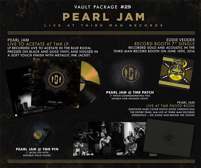 Third Man Records Vault Package #29: Pearl Jam