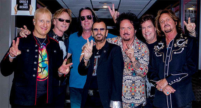 Ringo Starr and His 2016 All Starr Band