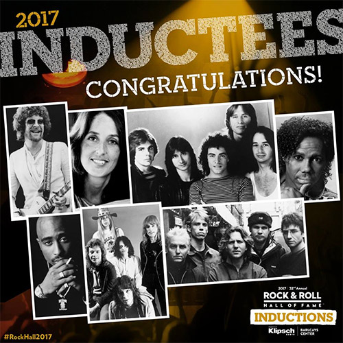 Rock & Roll Hall of Fame 2017