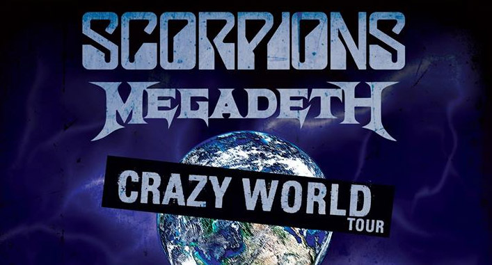 Scorpions & Megadeth - Crazy World Tour