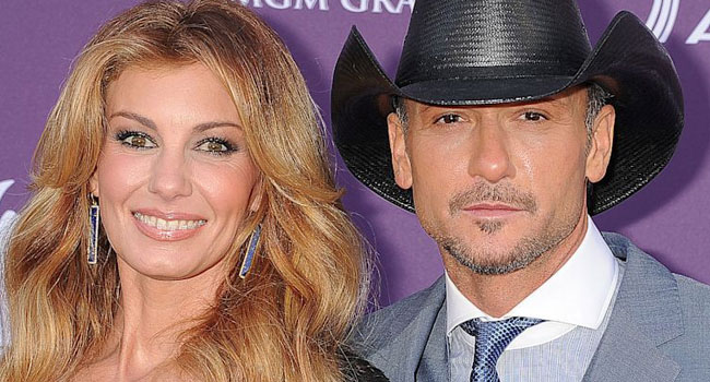 Faith Hill & Tim McGraw inducted into Music City Walk of Fame