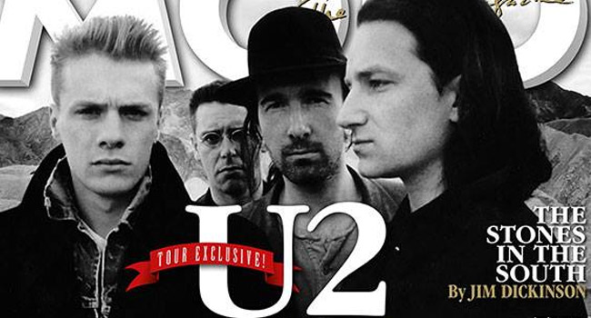 U2 on MOJO Magainze