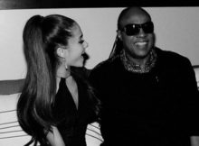 Stevie Wonder & Ariana Grande