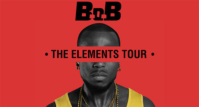 B.o.B announces The Elements Tour