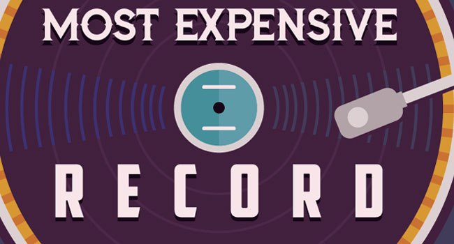 World's most expensive records - The Music Universe