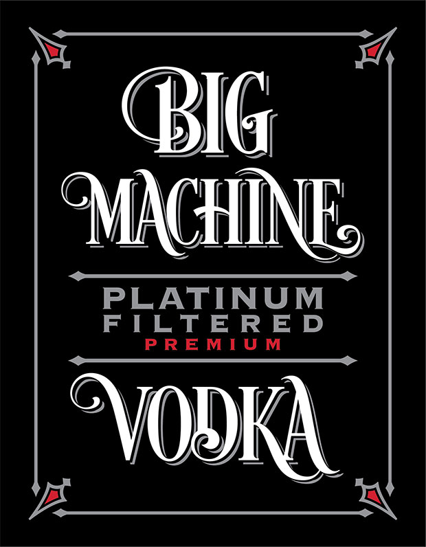 Big Machine Platinum Filtered Premium Vodka