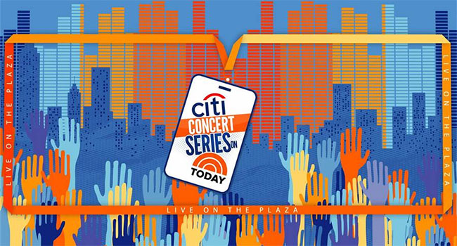 Citi Concert Series on TODAY