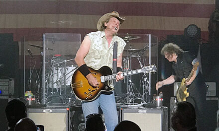 Ted Nugent puts 'Stranglehold' on Bakersfield