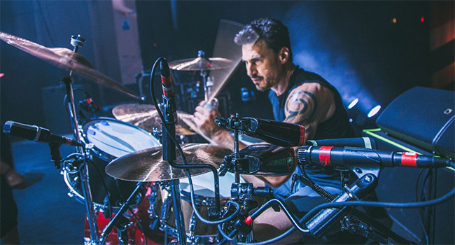 Drummer Brad Wilk to set in for 'Late Night with Seth Meyers'