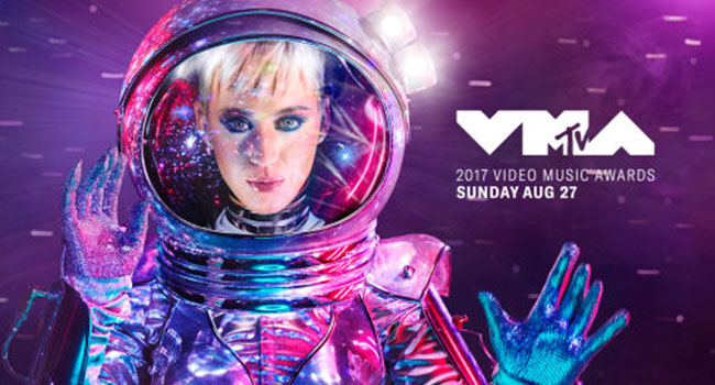 Katy Perry to host 2017 MTV Video Music Awards