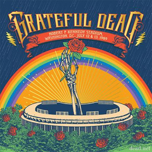 Grateful Dead - Robert F. Kennedy Stadium, Washington, D.C., July 12 & 13, 1989
