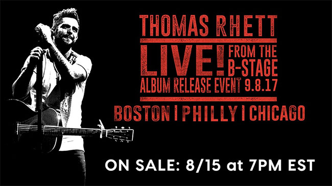 Thomas Rhett - Live From The B-Stage