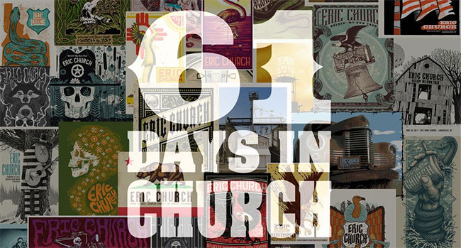 Eric Church - 61 Days in Church