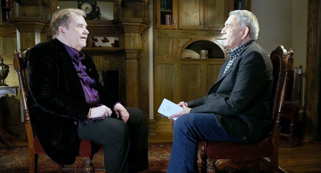 Meat Loaf & Dan Rather