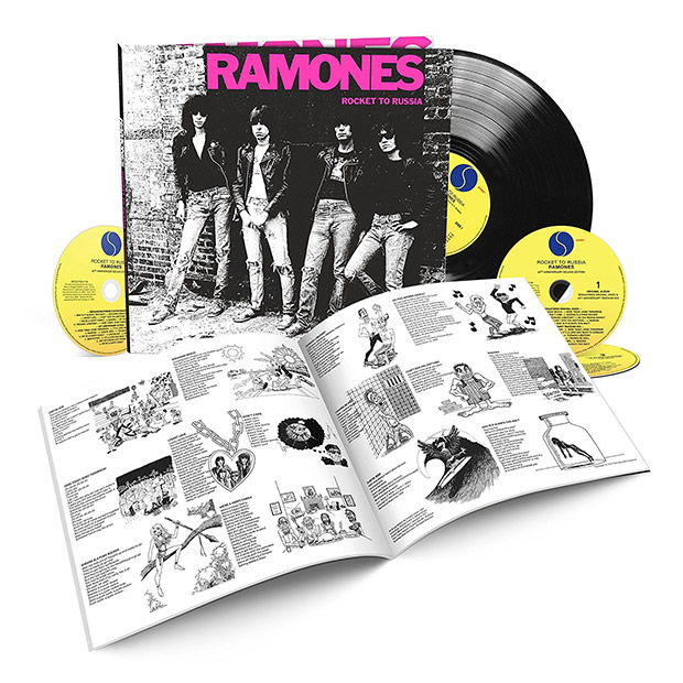 The Ramones 'Rocket To Russia' gets 40th anniversary treatment
