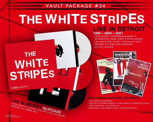 Third Man Records Vault Package 34