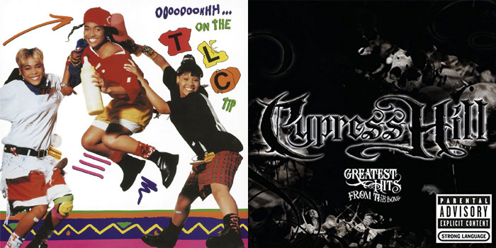 TLC & Cypress Hill LPs