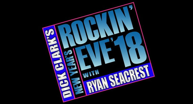 Dick Clark's New Year's Rockin' Eve with Ryan Seacrest 2018