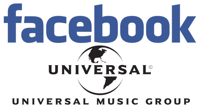 Facebook to Integrate Universal Music Group's Music Into Its Platforms