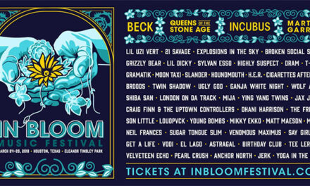Beck, Incubus among In Bloom Music Fest 2018 headliners