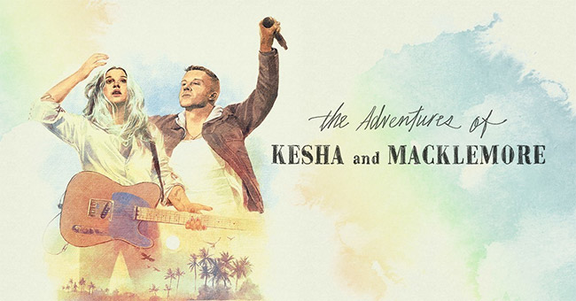 Kesha and Macklemore will tour together, play Nashville's Bridgestone Arena