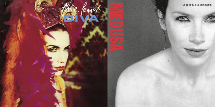 Two annie lennox albums getting vinyl reissues the music - Annie lennox diva album ...